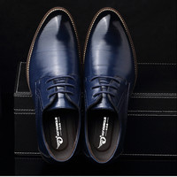 Large size US 6.5-12.5 Fashion formal mens dress shoes genuine leather black luxury wedding shoes men flats office for male