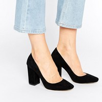 RAID Riz Block Heeled Shoes at asos.com