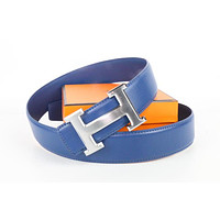 Hermes belt men's and women's casual casual style H letter fashion belt535