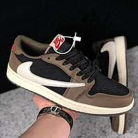 Travis Scott x Air Jordan 1 Low OG SP ¡°Dark Mocha¡±