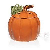 Autumn Inspirations Ceramic Pumpkin : Electric Wax Melts Warmer : Yankee Candle