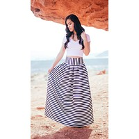 Belle of the Night Maxi Skirt - FINAL SALE