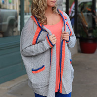 Cabin in the Woods Oversized Cardigan {Grey}