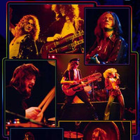 Led Zeppelin Live XL Giant Poster 39x54