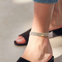 Rhinestone Anklet | Urban Outfitters