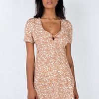 Wem Mini Dress Beige