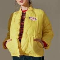 MadeMe Puffer Bomber Jacket | Urban Outfitters