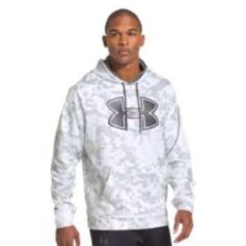 Under Armour Mens UA Storm Armour Fleece Printed Big Logo Hoodie