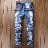 Strong Character Slim Stretch Jeans [454561923101]