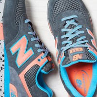AEO 's New Balance Outdoor 574 Sneaker (Dark Grey)