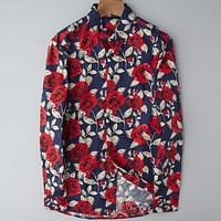Boys & Men Dior Fashion Casual Edgy Shirt