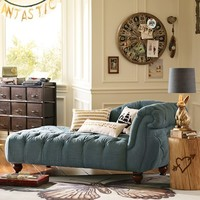 The Emily & Meritt Denim Chaise