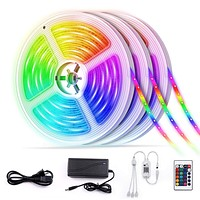 WiFi LED Strip Lights, 50Ft(3X5M) RGB SMD 5050 LED Rope Lighting Color Changing Full Kit with 24-Keys IR Remote Controller, App Control, Amazon Alexa/Google Voice Control