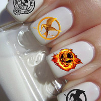 Hunger Games Nail Decal- 56 per purchase