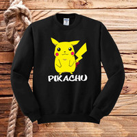 Pokemon Pikachu sweater unisex adults