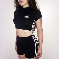 Reworked adidas two piece