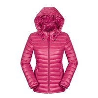 Plus Size Women  Quilted Padded Puffer Bubble Warm Thick Jacket Coat