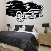 Vinyl Wall Decal Sticker Classic American Car #OS_MB669