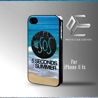 5 seconds of summer band the beach case for iPhone, iPod, Samsung Galaxy