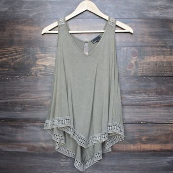 soft boho tank top - more colors
