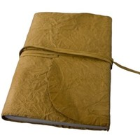 """Handcrafted Genuine Leather Antique Traveler Journal with Parchment Paper (5""""x7"""") - Lewis & Clark Series By Viatori"""