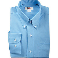 Cutter & Buck Long-Sleeve Epic Easy-Care Nailshead Woven Shirt