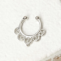 Clip-On Nose Ring