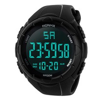 Luxury Brand Mens Sports Watches 5m Waterproof Digital LED Military Watch Men Fashion Casual Electronics Wristwatches Relojes