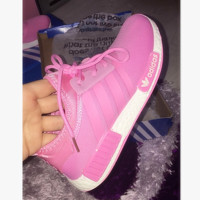 """""""ADIDAS"""" Women Running Sport Casual NMD Shoes Sneakers pink"""