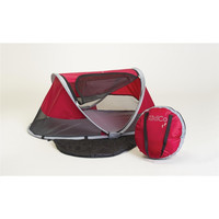 Baby Portable Travel Tent Bed with UV Protection and Carry Bag, Cranberry