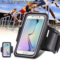 Women / Men Waterproof Running Sport Arm Band Leather Case For Samsung Galaxy A5 A3 For LG G2 For Huawei P7 P8 3C For Xiaomi