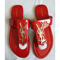 YSL Women Fashion Sandal Slipper Shoes