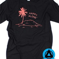 Stay Home Club - Happy Alone T-Shirt