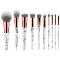 Marble Luxe 10 Piece Brush Set | BH Cosmetics