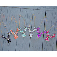 Gatsby Crystal Statment Necklaces