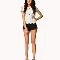 Embroidered Lace Top | FOREVER 21 - 2048051341