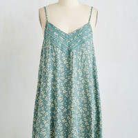 ModCloth Boho Mid-length Sleeveless Shift Weekend Wakeup Dress