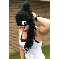 personalized monogrammed headband