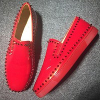 DCCK2 Cl Christian Louboutin Flat Style #749