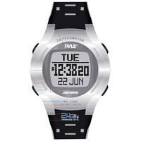 Pyle Sports Heart Rate Monitor Watch with Step Counter, Calories Expenditure and Pc Link