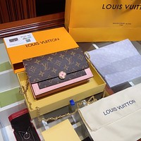 Louis Vuitton LV Monogram Flore Woc Chain bag
