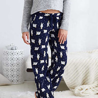 Aerie Real Soft® Flannel Sleep Pant , Navy
