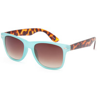 Full Tilt Classic Sunglasses Mint One Size For Women 25388052301