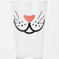 Whiskers Pint Glass - Clear One