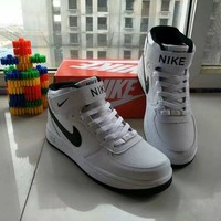 Nike Air Force 1 Unisex Sport Casual Letter High Help Shoes Sneakers Couple Plate Shoes-2