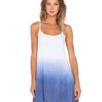 Strap Ombre Dip Dye Dress