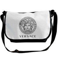 Crossbody Bag Versace Logo Crossbody Messenger Bag