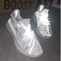 Samplefine2 Adidas Yeezy 350 V2 Boots Static Trending Women Men Stylish Sport Running Shoes Sneakers