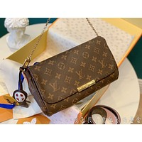LV Women's Leather Shoulder Bag Satchel Tote Bags Crossbody