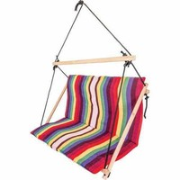 Double-Wide Hanging Rope Chair
